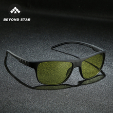 2019 Yellow Night Driving Vintage Glasses Women Color Changi