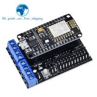 NodeMCU-placa con protección para Motor L293D para ESP-12E de ESP8266 esp 12E kit diy rc toy wifi rc, control remoto inteligente para Arduino