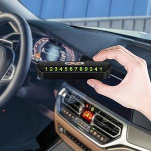Image 5 - 1 adet araba geçici park kartı telefon numarası kart aksesuarları Cadillac SLS ATS SLR XLR Escalade CTS SRX BLS STS CT4 CT5 CT6