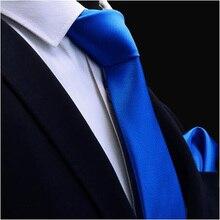 Ricnais Quality Tie Set For Mens 8cm Silk Necktie Handkerchi