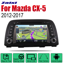 ZaiXi Android 2 Din Auto Radio DVD For Mazda CX-5 2012~2017 Car Multimedia Player GPS Navigation System Radio Stereo android 8 car dvd player gps navigation for mazda cx 7 2008 2015 multimedia headunit stereo tape recorder 2 din radio