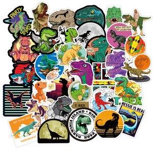 100 шт. Животные Динозавр мультфильм стикер игрушки дети водонепроницаемые наклейки для DIY на ноутбук скейтборд багажные наклейки