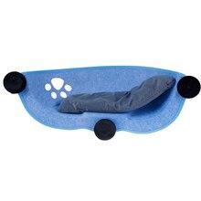 Гамак для кошки, кровать, окно, поддон, шезлонг, присоски, теплая кровать для питомца, кошачий отдых, домик, мягкая и удобная клетка