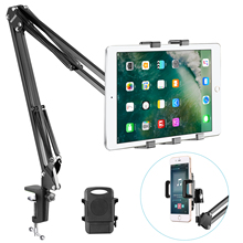 Padded-Holder Smartphone Neewer Mounting-Clamp Tablet-Stand Adjustable Samsung for 11