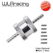 6 размер 4 мм/6 мм/8 мм/10 мм/12 мм/16 мм без возврата один способ топлива обратный клапан алюминиевый сплав бензин дизель