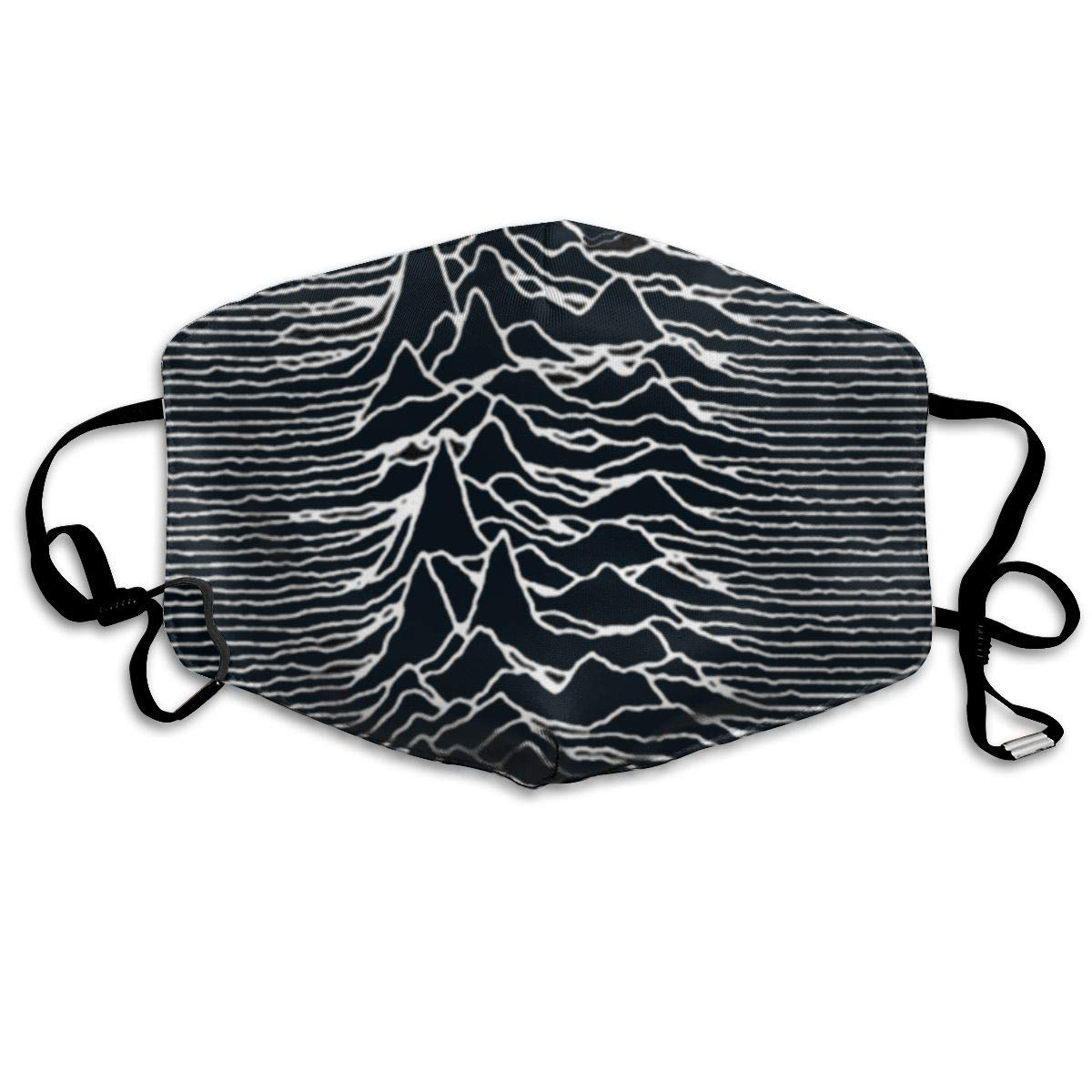 Mouth Mask Joy Division Unknown Pleasures Print Masks - Breathable Adjustable Windproof Mouth-Muffle, Camping Running For Women
