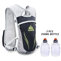 55L Running Bag Outdoor Nylon Backpack Climbing Hiking Cycling Accessories With Water Bottle Sport Bag New Arrival