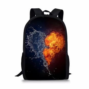 New fashion Custom Pattern School Bag Children Backpack Boy Girl School Backpack Student Bag 3D Printing Offload Backpack marilyn manson rock band school bag noctilucous backpack student school bag notebook backpack daily backpack