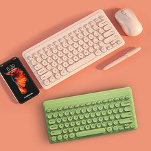 Mini Wireless Keyboard Mouse Set 2.4G Wireless Gaming Keyboard Mice Combo For Laptop Macbook Xiaomi Computer PC Gamer Keypad