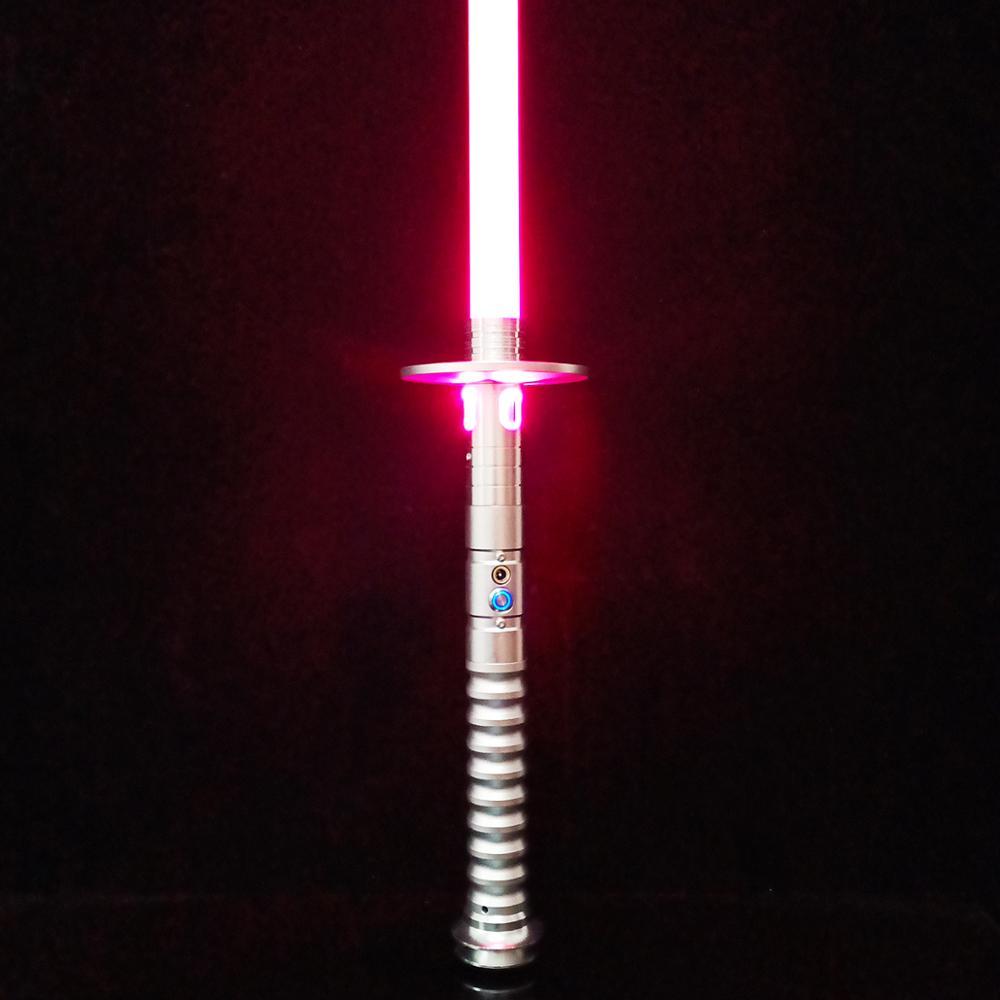 TXQsaber RGB  Heavy Lightsaber LED Light Saber FOC Lightsaber With Sound And Light, Metal Hilt, Star Wars Saber Toy For Kids