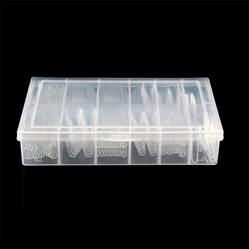 Xx longo caixão capa completa gel unhas