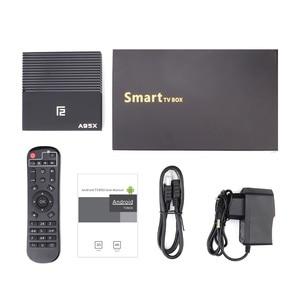 Image 5 - Смарт ТВ бокс Android 9,0 A95X F2 Amlogic S905X3 4 Гб 64 ГБ 32 ГБ Поддержка 2,4G 5G двойной Wifi 1080p 4K pfs Google Player TVBOX A95XF2
