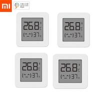 החדש XIAOMI Mijia Bluetooth דיגיטלי מדחום 2 אלחוטי חכם טמפרטורת לחות חיישן מדדי לחות עבודה עם Mijia App