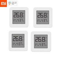 XIAOMI termómetro Digital Mijia 2, inalámbrico por Bluetooth, Sensor inteligente de humedad y temperatura, higrómetro que funciona con la aplicación Mijia