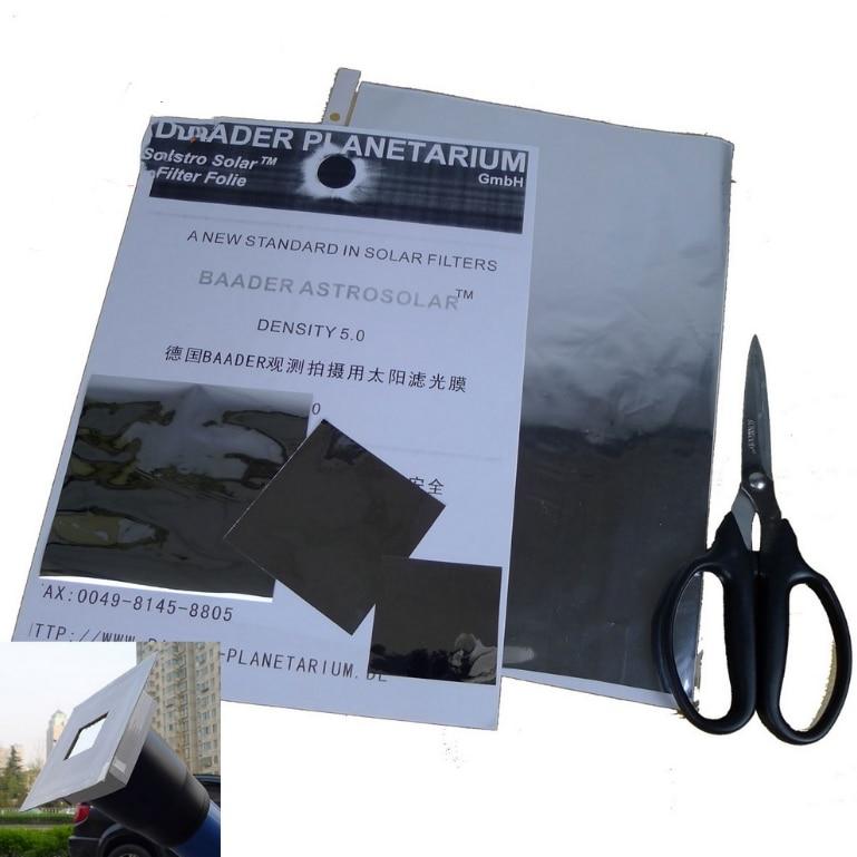 lowest price Agnicy German Baader Solar Film 5 0 Density Bard Film Special Security Sun Film Observation Film