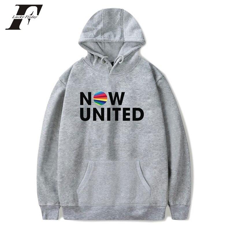 Now United Sabina Hidalgo 03 Hoodie Sweatshirts Trui Kpop Newtracksuit Streetwear Print Casual Mannen Vrouwen Printed Coat Tops 11