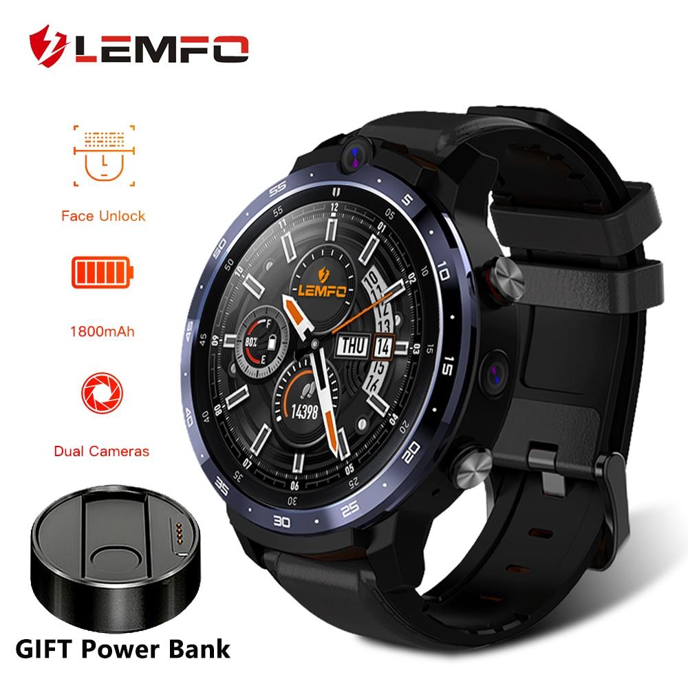 LEMFO LEM12 Смарт часы 4G Face ID 1,6 дюйма с Полноразмерным экраном ОС Android 7,1 3G RAM 32G ROM LTE 4G Sim GPS WIFI сердечный ритм для мужчин и женщин|Смарт-часы|   | АлиЭкспресс