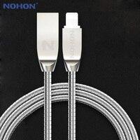 NOHON-Cable USB de 8 pines para móvil, dispositivo de carga rápida, sincronización de datos, para iOS 7, 8, 9, 10, Appe, iphone 7, 6, 6S Plus, 5, 5S, SE, iPad, iPod