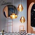 Подвесные потолочные лампы в скандинавском стиле, светодиодный подвесной светильник в стиле лофт для спальни, столовой, гостиной, арт-деко, ...