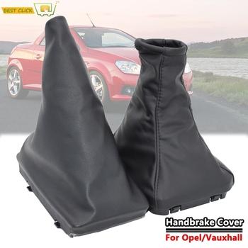 Skóra Hamulec ręczny biegów Gaiter Przesunięcie Gaitor pokrywa Dla Opel Vauxhall Corsa C (00-06) Tigra B (04-09) Combo C (01-03) tanie i dobre opinie XUKEY CN (pochodzenie) 1inch Pu leather 0 1kg protector 2000 2001 2002 2003 2004 2005 2006 2007 2008 2009 Iso9001 For Vauxhall Opel