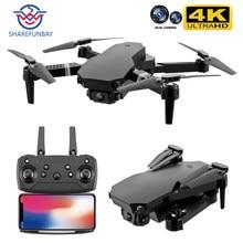 2020 novo zangão s70 4k hd câmera dupla dobrável altura mantendo zangão wifi fpv 1080p real-tempo de transmissão rc quadcopter zangão brinquedo