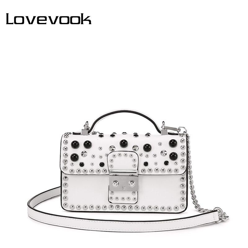 LOVEVOOK crossbody bags for ladies luxury handbags women bags designer 2020 evening bags with top-handle flap with diamond rivet