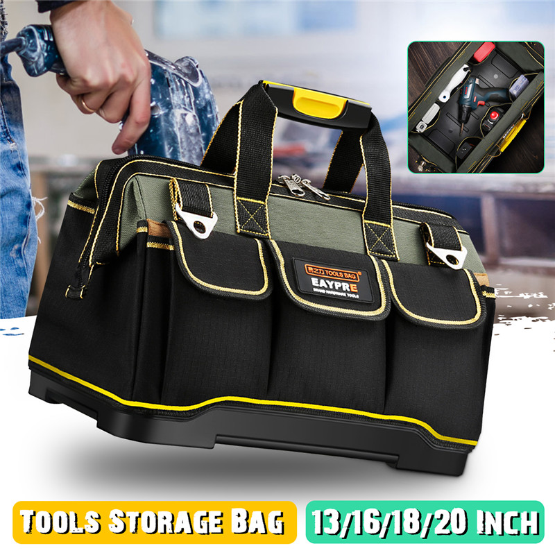 13 16 18 20 Inch Waterproof Tools Storage Bag Tool Bag Electrician Tools Carpentry Repair Portable Storage Organizers Box