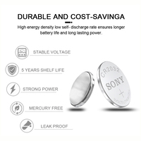 5pcs For SONY 2032 battery cr2032 cr 2032 5004LC KL2032 SB-T15 3v Button Cell Coin Lithium Batteries for Watch Computer Toys 2
