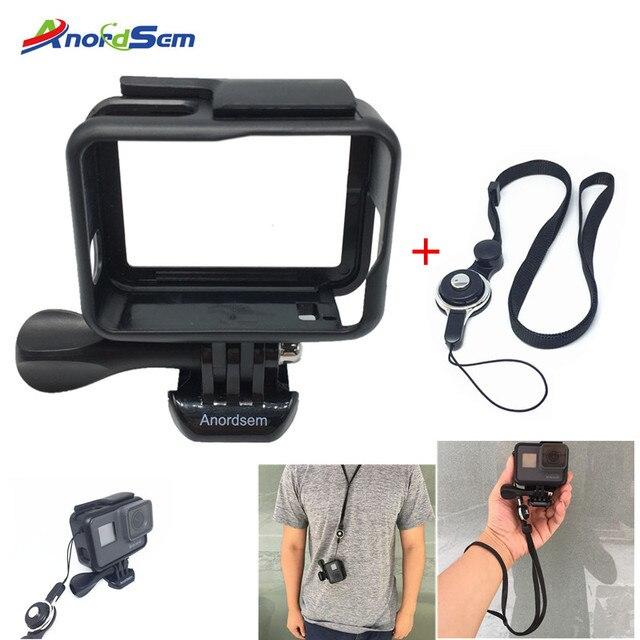 Anordsem สำหรับ GoPro อุปกรณ์เสริม GoPro Hero 7 6 5 กรอบป้องกันกรณีกล้องที่อยู่อาศัยโครงกระดูกสำหรับ Go Pro Hero 2018 กล้อง