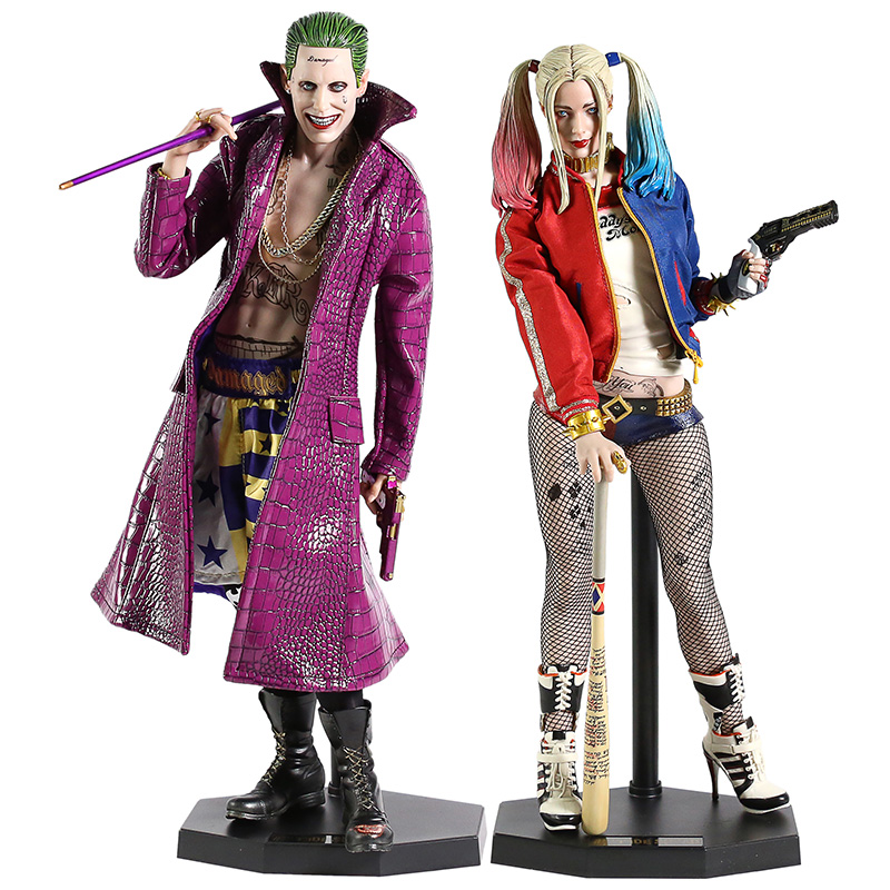 Suicide Squad Joker / Harley Quinn 1/4 Scale Collectible PVC Figure Model Toy