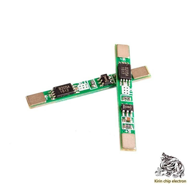 10 PCS/LOT3.7V Lithium Battery Protection Board 18650 Solder Pad Can Be Used For Welding With Multiple And 3A Over-Current Value