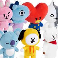 Juguetes rellenos para regalos de Navidad, animales de dibujos animados de Kpop, 8 estilos, corazón de oveja, perro, conejo, Koala, caballo, novia