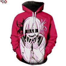 Anime Meisje Sexy Mijn Hero Academia Ahegao Manga Gedrukt 3D Print Hoodies Casual Sweater Anime Trainingspak Truien T31