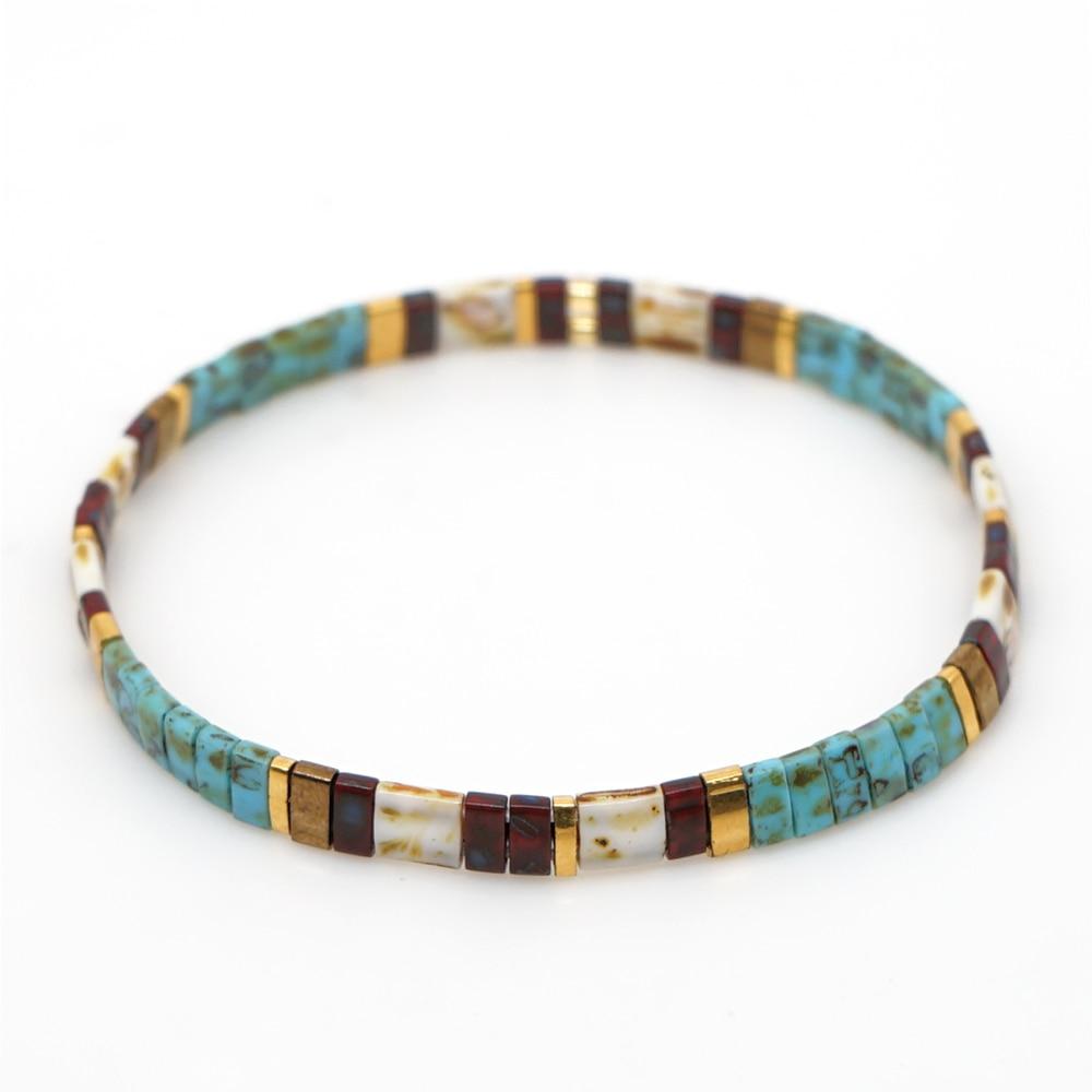 Go2boho Bracelet For Women MIYUKI Pulseira Mujer 2020 Tila Beads Bracelets Summer Jewelry Bijoux Femme Boho Jewellry Friendship