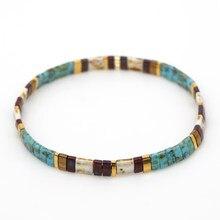 Go2boho pulseira vintage para mulheres miyuki tila contas pulseiras boho pulseras 2021 amostra jóias amigos melhor presente jóias