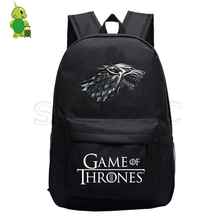 купить Game of Thrones backpack House Stark Targaryen School Bags for Teenage Girls Boys Daily Laptop Backpack Casual Travel Bags онлайн