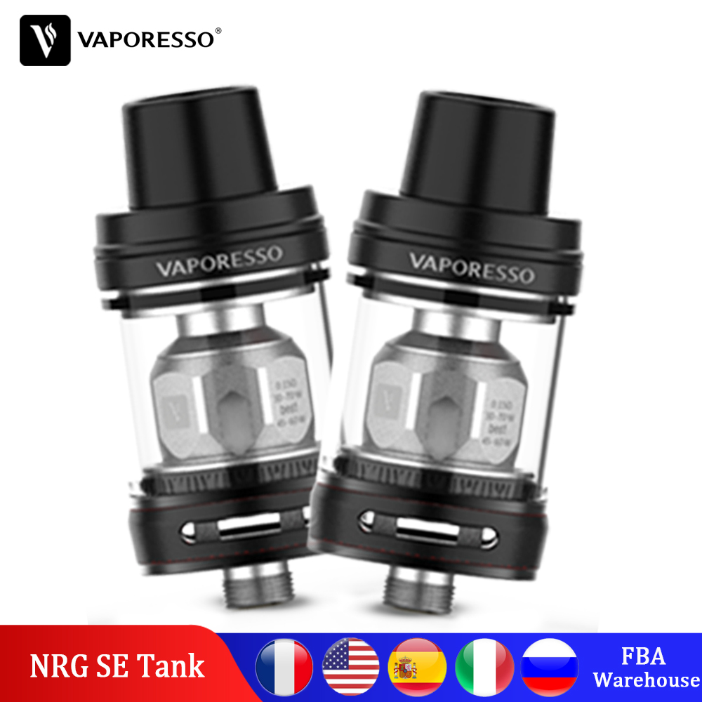 Original Vaporesso NRG SE Tank 2/3.5ml Atomizer With GT Meshed Coil For Swag Revenger GEN LUXE Box Mod Vape Electronic Cigarette