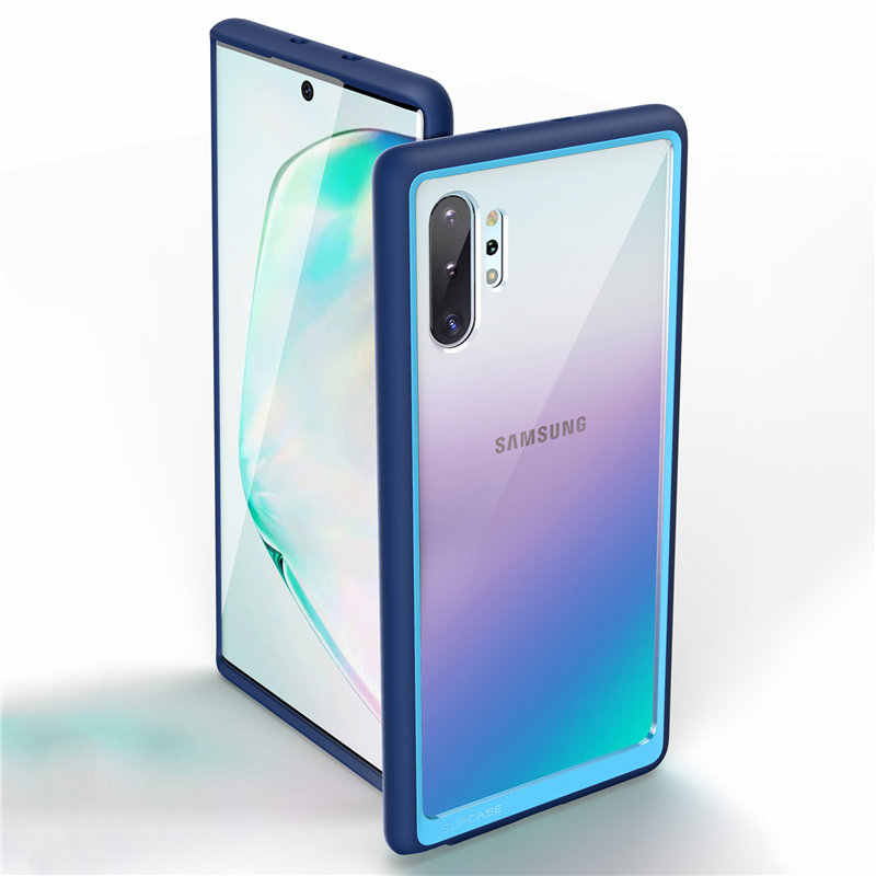 SUPCASE For Samsung Galaxy Note 10 Plus Case (2019 Release) UB Style Premium Hybrid TPU Bumper Protective Clear PC Back Cover