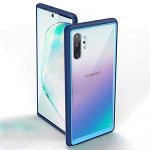 Image 1 - Supcase Voor Samsung Galaxy Note 10 Plus Case (2019 Release) ub Stijl Premium Hybrid Tpu Bumper Beschermende Clear Pc Back Cover