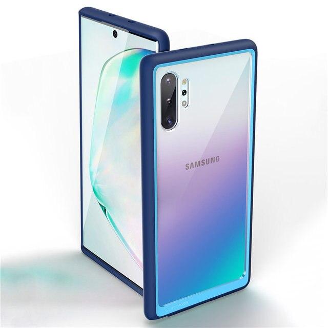 Supcase Voor Samsung Galaxy Note 10 Plus Case (2019 Release) ub Stijl Premium Hybrid Tpu Bumper Beschermende Clear Pc Back Cover