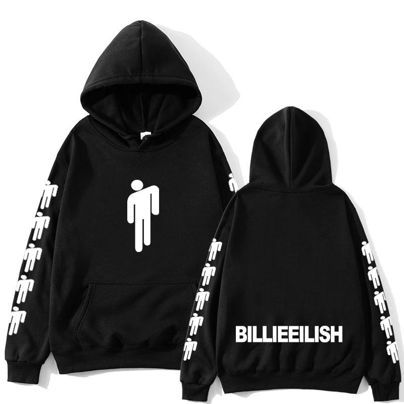 Billie Eilish Mode Gedrukt Hoodies Vrouwen/Mannen Lange Mouwen Hoody 2019 Hot Koop Casual Trendy Streetwear Hoodies