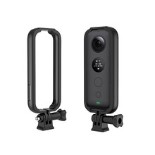 Protective Frame Border for Insta 360 One X Camera Accessories Motorcycle Helmet Bracket Mount Adaptor For GoPro Interface