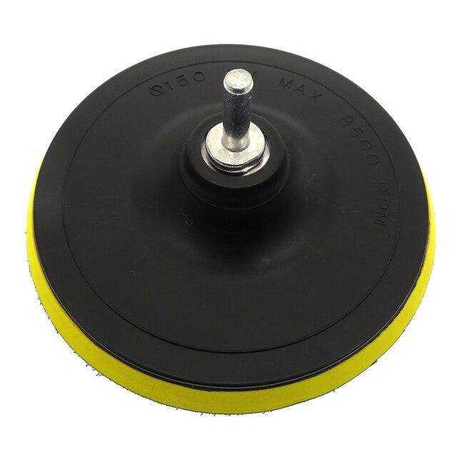 5/6/7 Inch 8Pcs/Set Car Polishing Pads Kit Clean Sponge Waxing Buffing Pad  M14 Thread Wool Ball Auto Backer Pad Car Repair Care 1