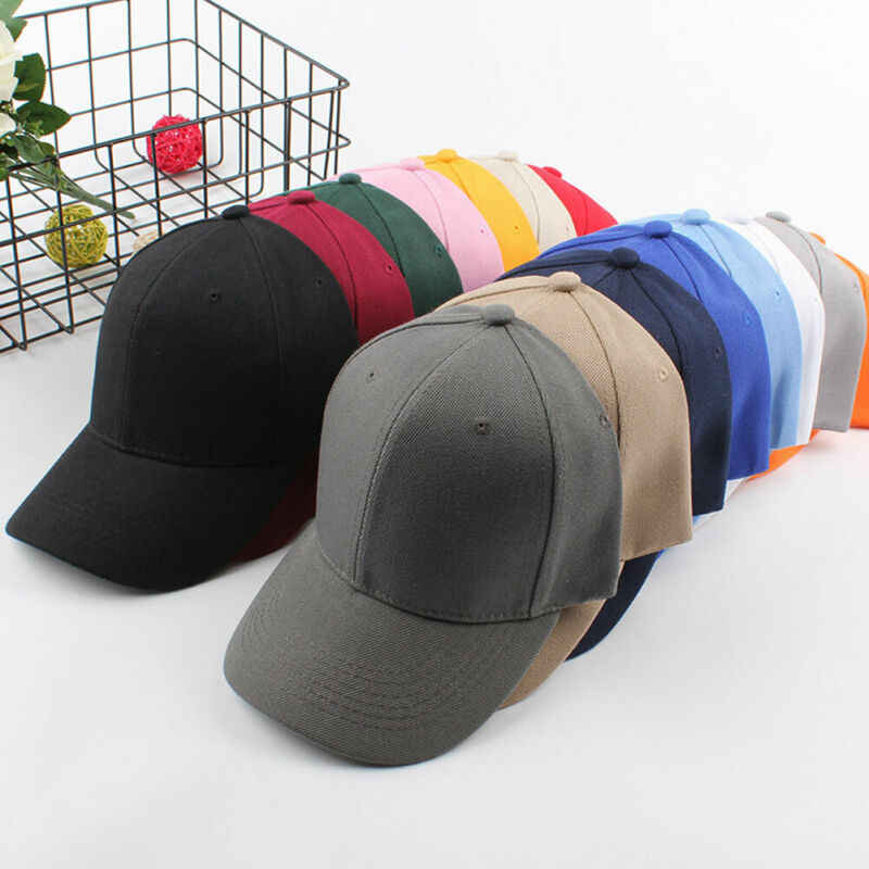 2020 neueste Bunte Mode Männer Frauen Schwarz Baseball Cap Snapback Hut Hip-Hop Einstellbar Bboy Caps Koreanische Baseball Caps