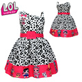 1 шт. куклы-сюрприз LOL, милое мультяшное платье, аниме-фигурки, одежда для девочек, маленькое платье, лифчик, вечернее платье принцессы, подарк...