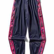 Running-Pants Basketball Easy-To-Wear Sport Jogging Men Fitness Striped Loose Full-Open-Button