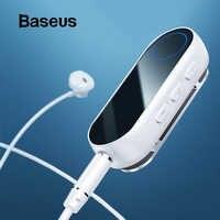 Baseus nadajnik bluetooth bezprzewodowy odbiornik bluetooth do słuchawek słuchawki speatr 3.5 Aux bluetooth audio adapter z odbiornikiem