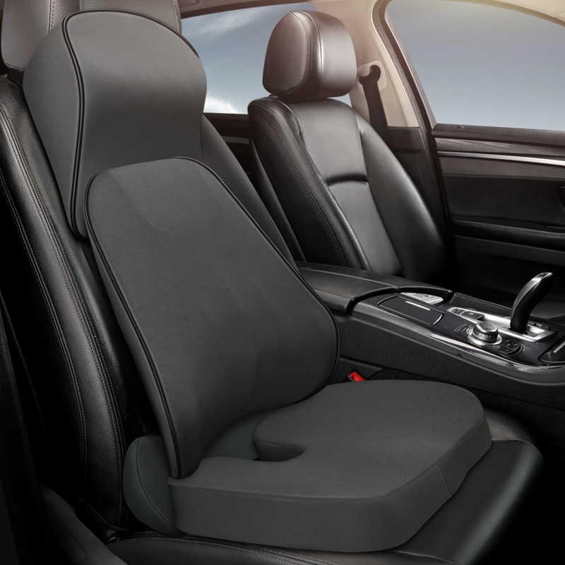360/° cuscino per sedile auto e SUV Cuscino per sedile auto imbottito colore: Nero portatile girevole Wakauto