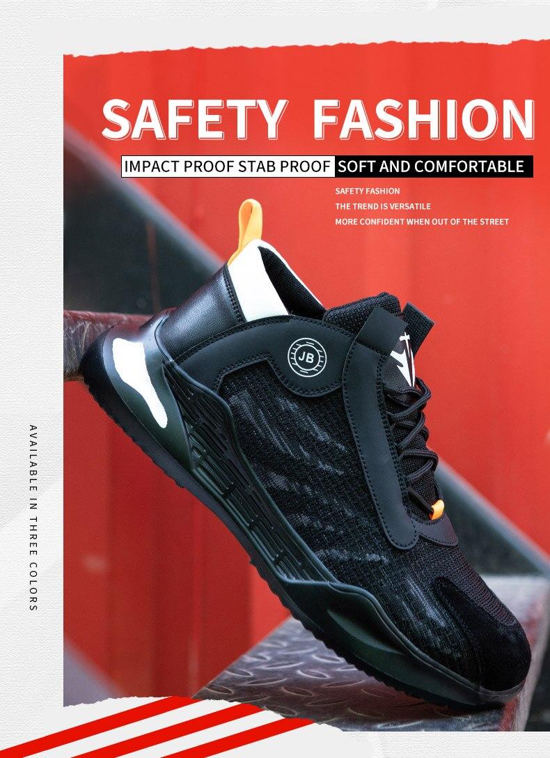 sapatos de segurança sapatos de trabalho respirável