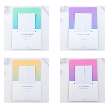 Buy 1PCS  Kawaii Writing Paper Letter Set For Kids Gift School Office Supplies Student Envelope Stationery Planner Diary directly from merchant!